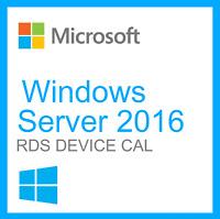 Remote Desktop Services - Server 2016 Standard / Datacenter - 50 User RDS CALs