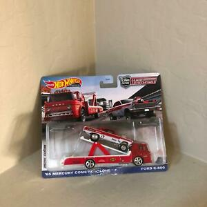 Hot wheels Équipe Transport '65 Mercury Comet Cyclone Ford C-800 Real Riders L18