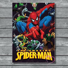 Marvel Spiderman Retro Style A4 Poster Glossy Print  no 2