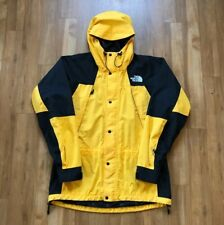 The North Face Vintage Gore-Tex Euro Mountain Light Jacket Yellow Large