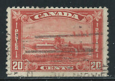 Canada #175(9) 1930 20 cent brown red HARVESTING WHEAT Used CV$2.00