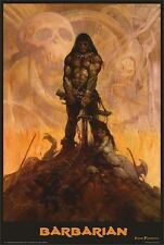 ~~ FRANK FRAZETTA ~ THE BARBARIAN 24X36 POSTER ~~