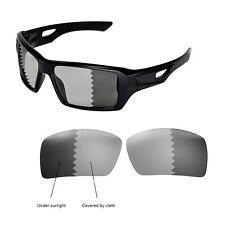 New Walleva Polarized Transition/Photochromic Lenses For Oakley Eyepatch 2