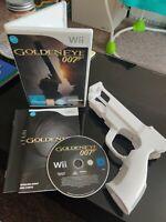 Goldeneye 007 - Nintendo Wii/Wii U Game - COMPLETE With Gun/Zapper - FREE P&P!