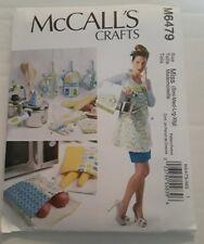 Women Apron Towel Potholders Bag Sewing Pattern McCall's 6479 New #k