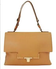 $3,000 Lanvin Paris Beige Miss Sartorial Handbag Leather Tan Large Bag Italy