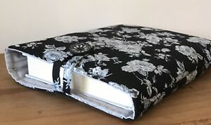 Handmade Book Sleeve. Roses. New
