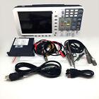 Newest low-noise OWON 100Mhz Oscilloscope SDS7102V FFT LAN+VGA+battery+bag 3yrs