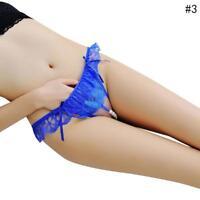 Ladies Lace Thongs G-string V-string Panties Knickers Lingerie Underwear AU