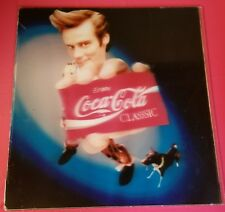 Coca Cola Ace Ventura Pet Detective Jim Carrey Adverstising Hologram Poster