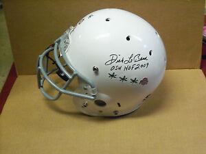 "Dick LeBeau, Ohio State Buckeyes, Signed OSU ""CUSTOM"" Full Size Schutt Helmet"