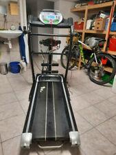 Profi-Laufband mit Fitnessstation und Bandmassagegerät, 12 km/h