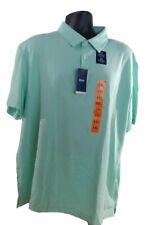 Para Hombre Izod Manga Corta Elástico suave al tacto natural Camisa Polo Golf/