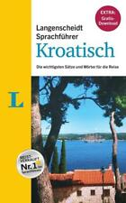 """Langenscheidt Sprachführer Kroatisch - Buch inklusive E-Book zum Thema """"Essen & Trinken"""" (2017, Kunststoffeinband)"""