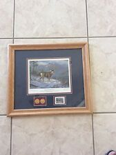 """""""Mountain Mule Deer"""" 1997"""" Sam Timm Rocky Mountain Elk Conservative Edition"""