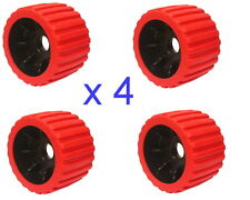 "Wobble Roller 3"" x 100mm Red x 4"