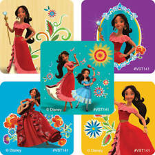 25 Disney Princess Elena of Avalor Stickers Party Favors Teacher Supply