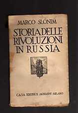 storia delle rivoluzioni in russia - marco slomin - novdcvctrsgs