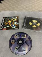 X-Men Mutant Academy 2 II (Sony Playstation 1) PS1 - Complete - Tested - Working