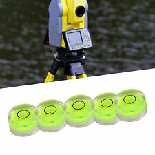 5Pcs Spirit Bubble Level Surface Circular Measuring Bull Eyes Instrument New