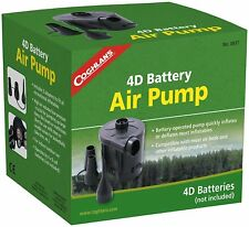 Battery Powered Air Pump Inflating 3 Adapter outdoor Camping Chair Boat Mattress