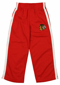 Outerstuff NHL Youth Chicago Blackhawks Dribble Mesh Pants