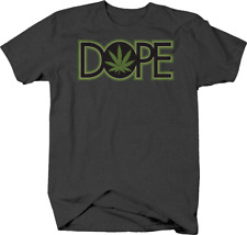 Dope Marijuana Leaf Weed Pot  Chill Vibes Smoking T shirt for men