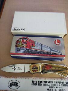 Lionel Santa Fe Train Knife