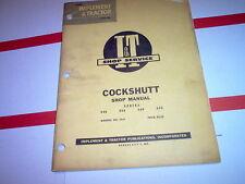 Cockshutt 540 550 560 570 Vintage Tractor I&T Shop Service Manual