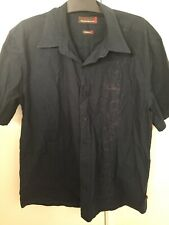 Colorado Jeans Men's Short Sleeve Button Up Shirt Tapered Fit L78cm W60cm