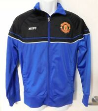 Manchester United Official Merchandise Warm Up Jacket Mens Size S Zip Front