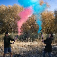 """24"""" Gender Reveal Smoke Powder & Confetti Cannons [Choose Color] Party Cannon!"""