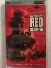 RED SCORPION Rare!! [UMD for PSP]