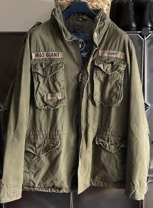 Brandit M65 Giant Cotton Military Style Large Jacket Parka