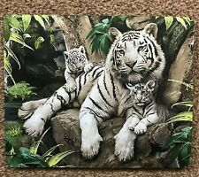 mouse mat tiger & cubs desktop laptop mouse pad quality 5 MM thick made in UK