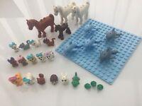 Lego Friends Animals puppy minifigure mini figure dolphin dog cat horse kitten