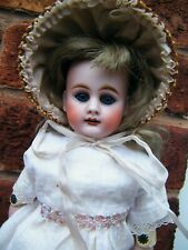 """EARLY 13"""" INCH ANTIQUE BAHR AND PROSCHILD S/HEAD, KID BODY."""