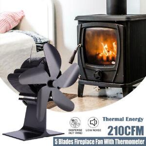 Heat Powered Wood Stove Fan For wood/log burner/fireplace Eco Friendly Quiet Fan