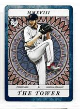 2018 Gypsy Queen Chris Sale Tarot of the Diamond Indigo #TOD15 The Tower /250