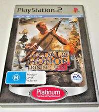 Medal of Honor Rising Sun PS2 (Platinum) PAL *Complete*