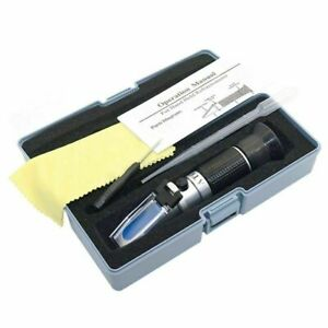 Honey Refractometer 12-27% water Brix/Water/Baume Tester with ATC Handheld