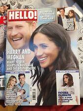HARRY & MEGHAN HELLO! MAGAZINE SEPTEMBER 24 2018 #1551