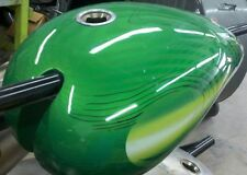 Viper Motorcycle Company Fuel Tank 4799999 Steel Gas Tank Custom Green