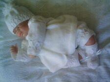 "Knitting Pattern Bambino Neonato o Bambola Reborn 17"" ~ 18"" (parte 33)"