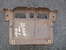 1971 1972 Mustang Fastback Coupe Convertible License Plate Bracket Front Bumper