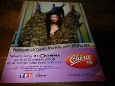 NOLWENN LEROY - Publicité de magazine / Advert !!! CONCERT 2006 !!!!!!!!!!!