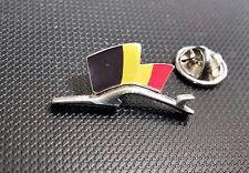 Porsche Pin Silhuette Flagge Belgien 28x15mm limitierte Auflage