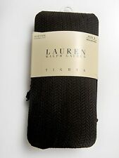 NWT NEW LAUREN RALPH LAUREN Womens TIGHTS Size B Color Brown