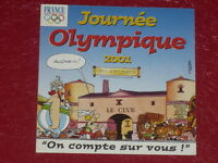 [Coll.J. DOMARD SPORT] OLYMPIC GAMES  / JOURNEE OLYMPIQUE 2001 UDERZO STICKER