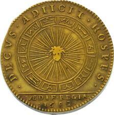 O4048 Jeton Louis XIV Bâtiment du Roi 1682 soleil signes du zodiaque